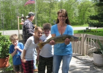 kids w walleye