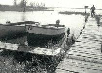 old wooden dock 1940's SWR