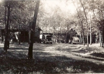 cars by cabins 1943